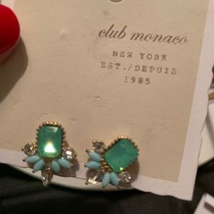 Club Monaco Jeweled Stud Earrings